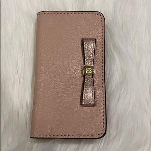 Anne Klein cell phone wallet